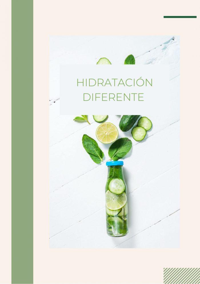 Hidratación diferente